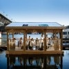 Floating Dining Room Sets Sail on 1,672 Bottle Raft in Vancouver School of Fish Foundation Floating Dining Room – Inhabitat - Sustainable Design Innovation, Eco Architecture, Green Building