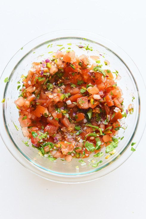 This Is How To Make All The Salsas On The Chipotle Menu plus rice, guac