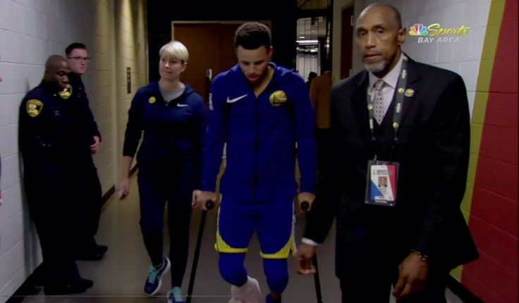 Stephen Curry will miss at least 'a couple of weeks' after scary-looking ankle injury