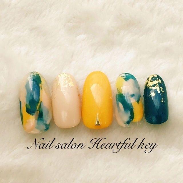 Ça ferait jolie sur de vrai ongles magnifique le mariage des couleurs