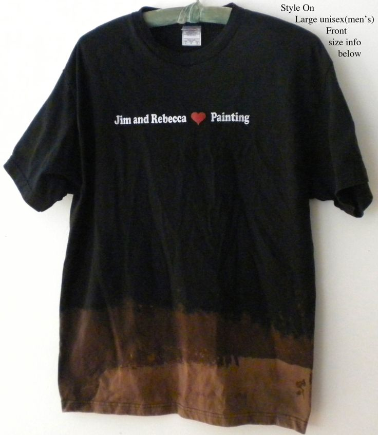 Graphic Tee Shirt, Black Tee shirt, Tie Dye Tee Shirt, Acid Wash Tee Shirt, Grunge, Artist tee shirt, Pasadena City College Art Gallery by Styleon on Etsy