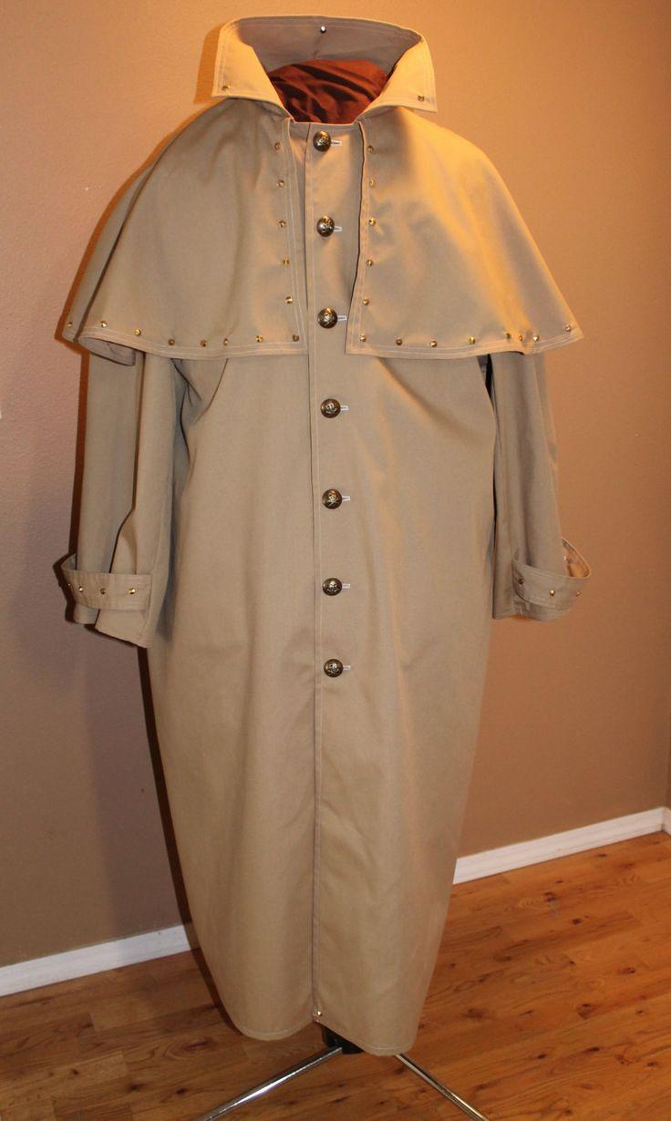 Steampunk coat, Gothic coat, Halloween costume, Victorian, Cosplay, Burning man…