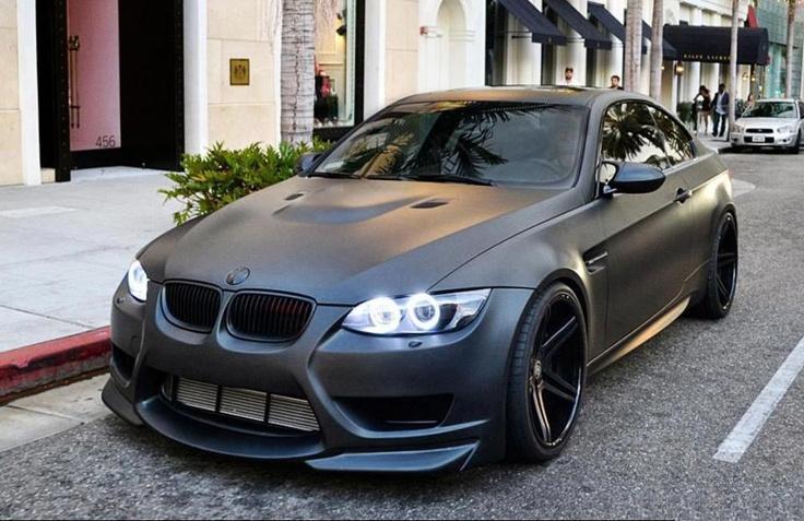 Black On Black Beamer | Cars I love | Pinterest | Black and On