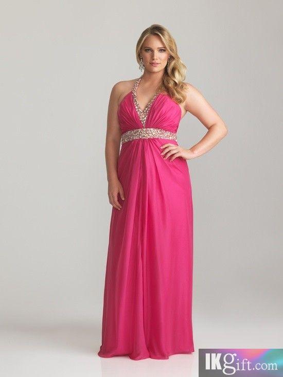 Mejores 29 imágenes de Plus Sized Prom Dress en Pinterest | Vestido ...