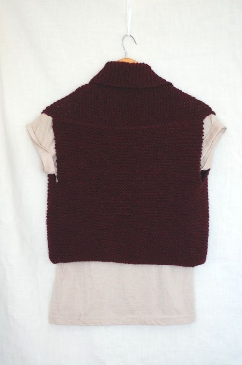 Knitting Pattern Vest : 1000+ ideas about Knit Vest Pattern on Pinterest Vest ...