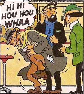 Carreidas l'homme qui ne rit jamais • Herge, Tintin et moi