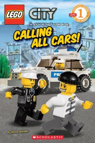 Favorite Lego books - anything with police!