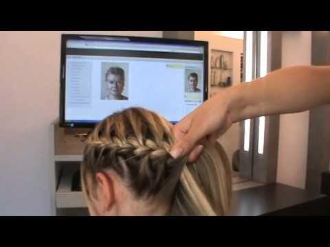 Gewickelter Zopf/Frisur für MädchenFlechtfrisur Weihnachten♥ - YouTube