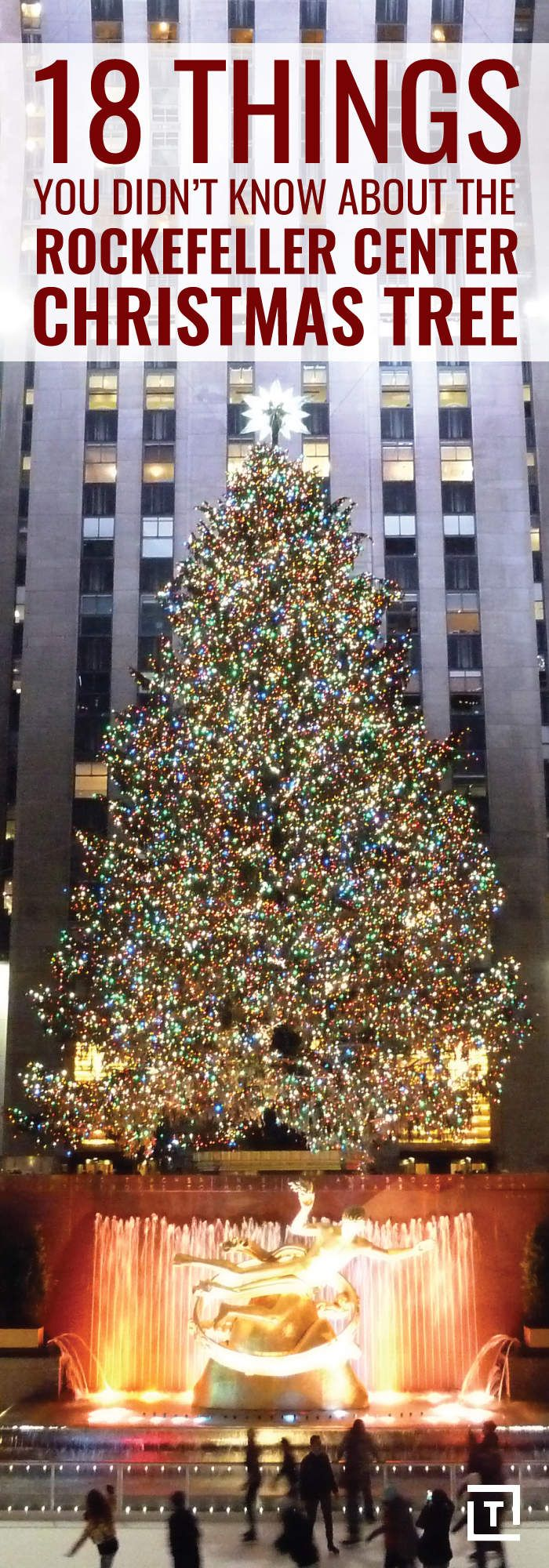 18 Things you did not know about The Rockefeller Center Christmas Tree