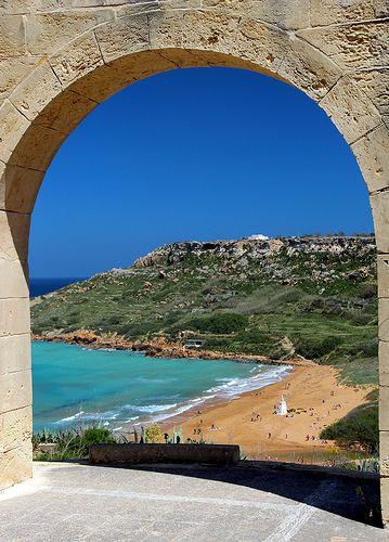 Ramla Bay, Gozo, Malta http://www.travelbrochures.org/90/europa/go-to-holiday-in-malta