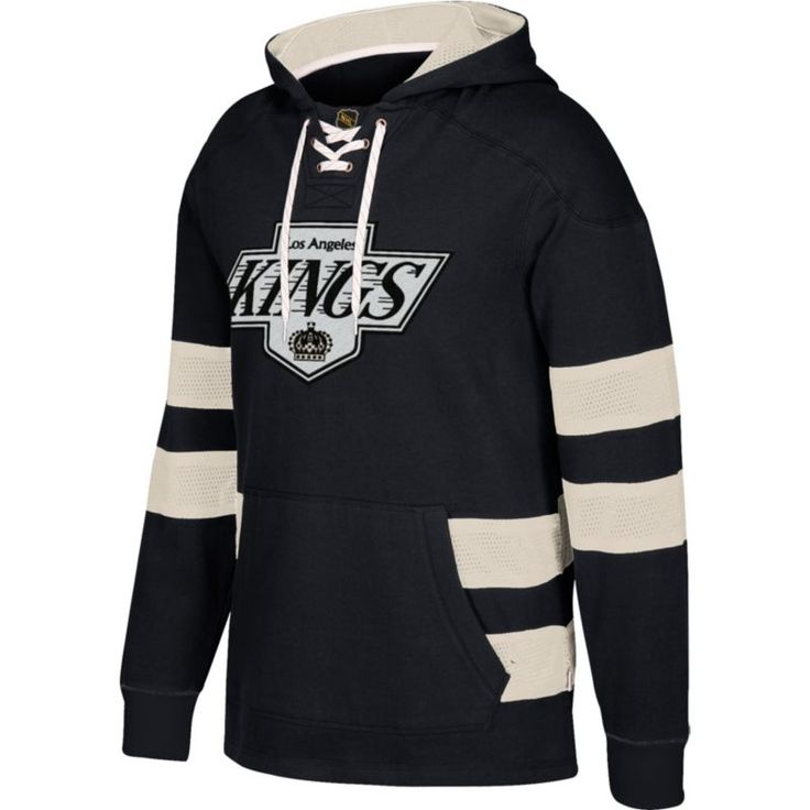CCM Men's Los Angeles Kings Jersey Black Pullover Hoodie, Size: Medium, Team