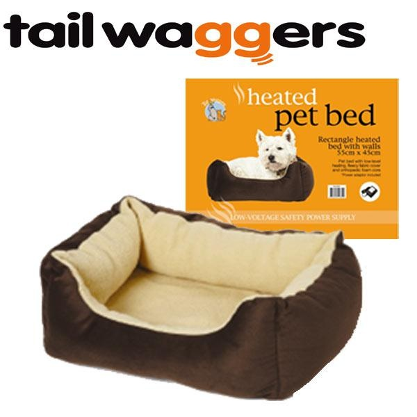 heated pet bed with sides - Heated Pet Beds