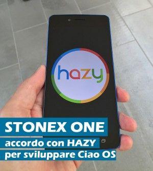 Stonex One: Ciao OS sarà sviluppato in collaborazione con Hazy