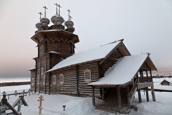 Кижи. Покровская церковь.