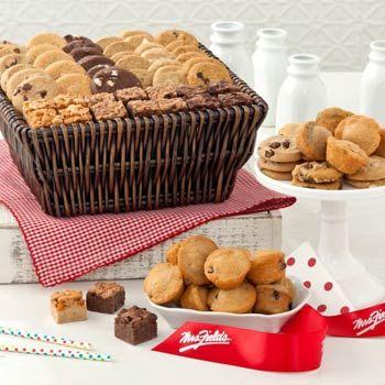 25 unique cookie gift baskets ideas on pinterest cool ideas mrs fields corporate cookie gift basket negle Choice Image
