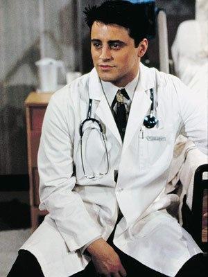 Friends (1994 TV)  Matt LeBlanc as Joey Tribbiani / Dr. Drake RamorayDrake Ramoray, Doctors Doctors, Joey As Drake, Friends Tv, Doctors Fiction, Joey Tribbiani, Living Character, Famous Doctors, Friends Dr.
