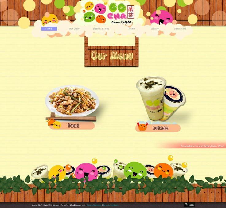 Web Design | Go Cha Taiwan Delights!!! | Kreavi.com