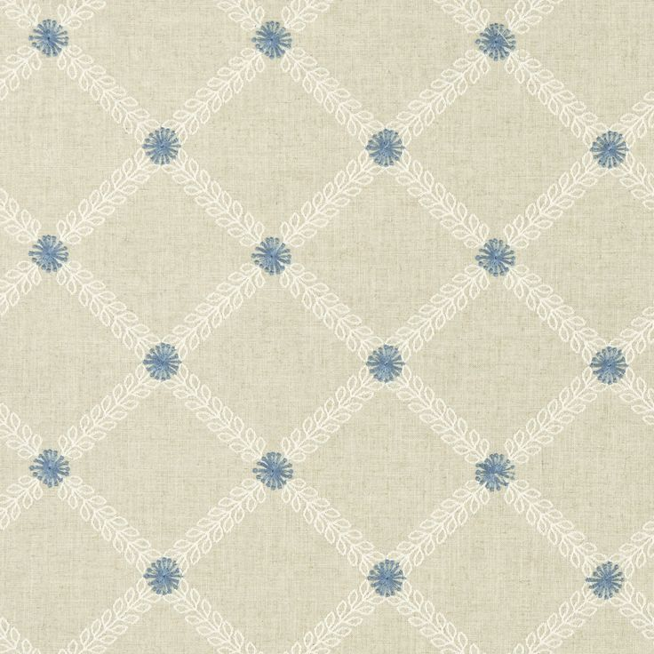 Cressida - Denim fabric, from the Bloomsbury collection by Clarke and Clarke