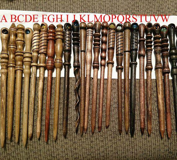 Handmade Wooden Wizards Wands