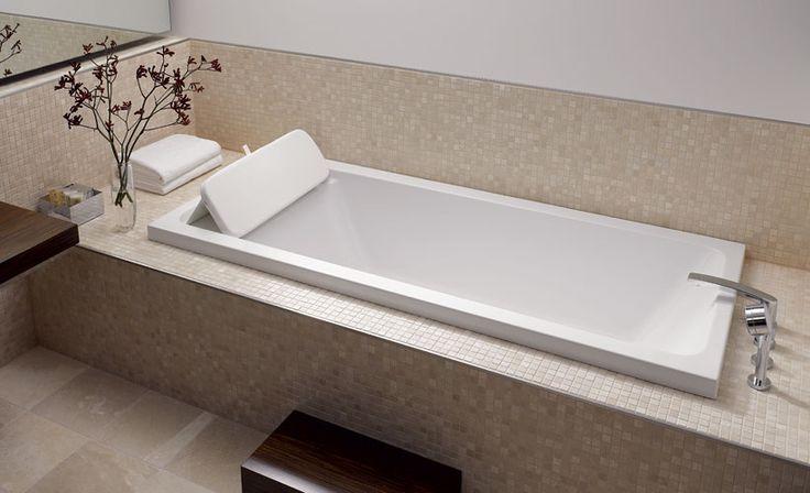 Badewanne Badezimmer Pinterest Badewannen, Badezimmer und - badewanne eingemauert modern