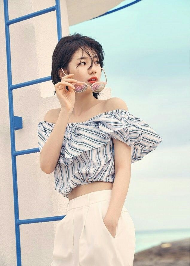 Pin by Edward Chiang on Suzy | Bae suzy, Suzy, Short hair styles