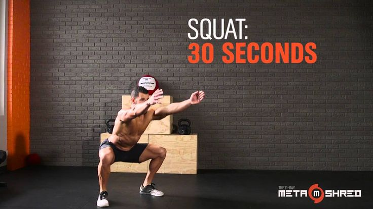 The Metaconda from the 21-Day MetaShred Home Workout DVD
