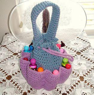 Crochet Geek : Crochet Bingo Bag or Craft Bag (free crochet pattern)