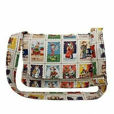 Loteria Cards Messenger Bag - Plus Size - Curvy Fashion - Bold - Unique - Renegade