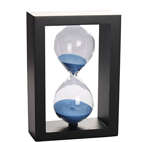 Phoenixes Hourglass Timer 60 Minute Home Decoration Gift Crystal Sandglass (Black Frame Blue Sand)  Price: US $35.87 & FREE Shipping  #kitchen #love #home #lovedkitchen