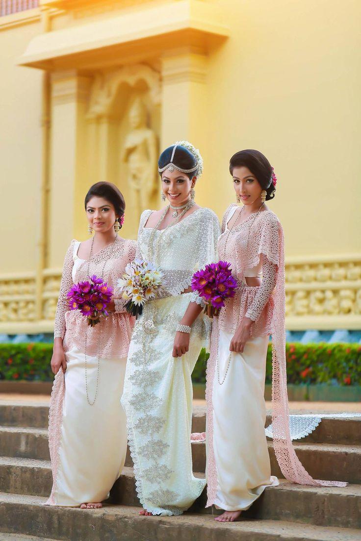 541 best traditional weddings images on pinterest for Sri lankan wedding dress