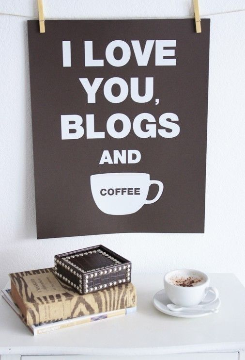 HTML Basics Every Blogger Should Know: Inspiration, Quotes, I Love You, Coffee, Poster, The Offices, Offices Decor, Blog, Home Offices