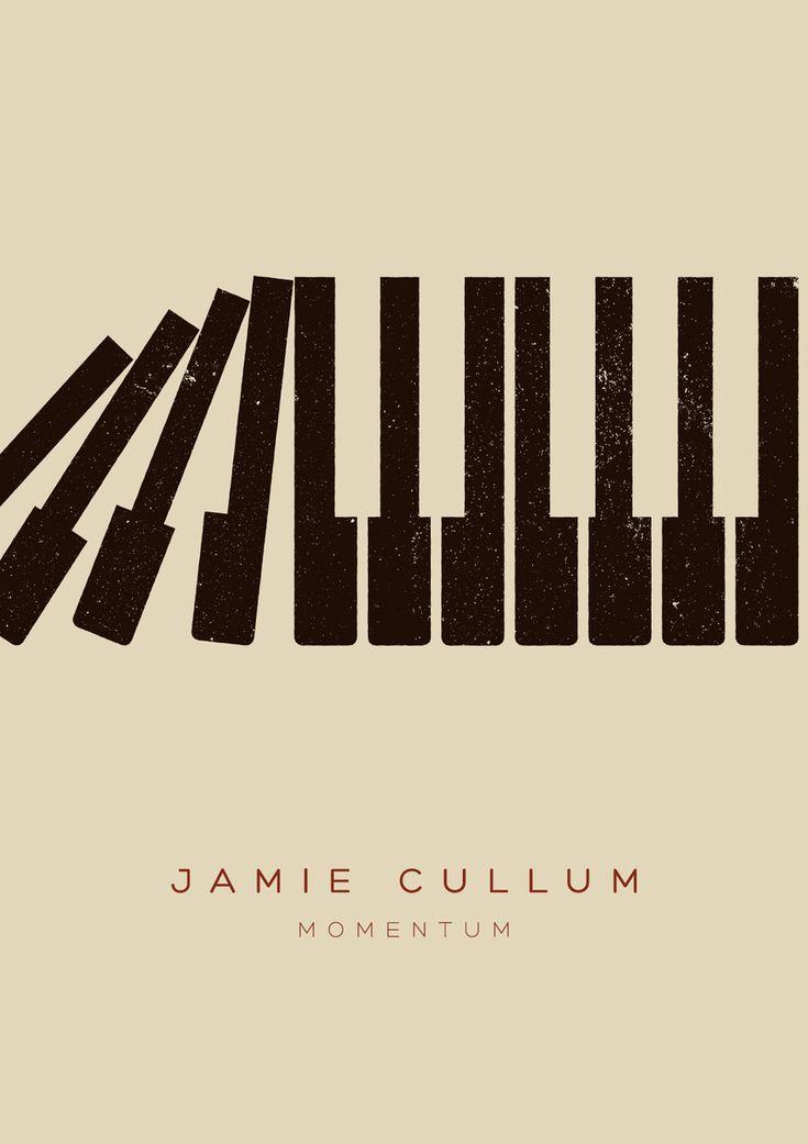 Jamie Cullum Tour Poster 2013 por Edu Torres