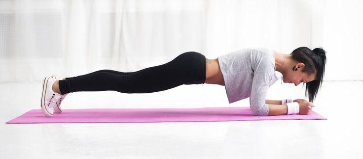 Programme abdos fermes, 10 exercices de planche faciles que tu peux faire chez toi tous les matins