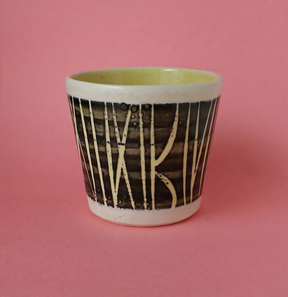 Planter Pot Lotus Pottery  Stoke Gabriel by redruthcollectables