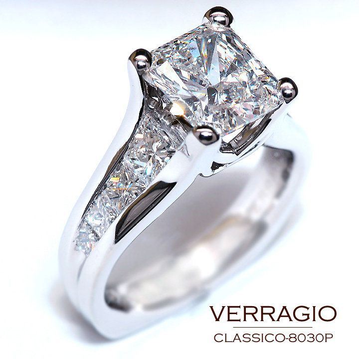 classico 8030p engagement ring it is perfect setting to showcase your diamond in this timeless and elegant engagement ring - Elegant Wedding Rings