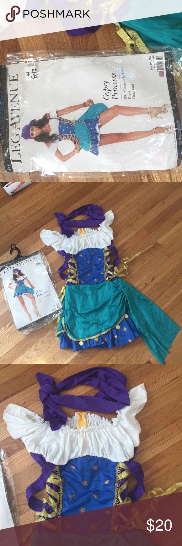 Leg Avenue Gypsy Princess Leg Avenue Gypsy Princess.  Includes Dress & head scarf. Leg Avenue Other