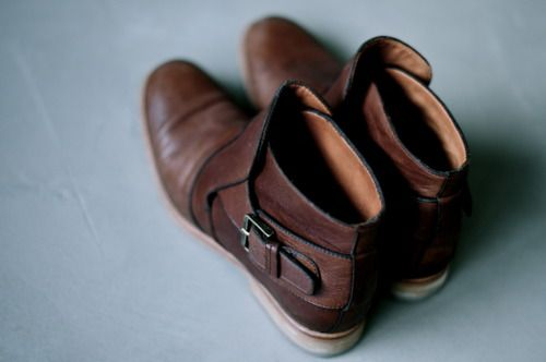 boots: Brown Booties, Brown Leather Boots, Womens Fashion, Strappy Shoes, Fashion Clothing, Shoes Boots, Brown Shoes, Brown Boots, Accessories
