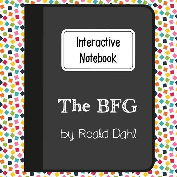 The BFG by Roald Dahl. Interactive Notebook for Language Arts Reading. Relaxed with no multiple choice. Comes with note taking guide.