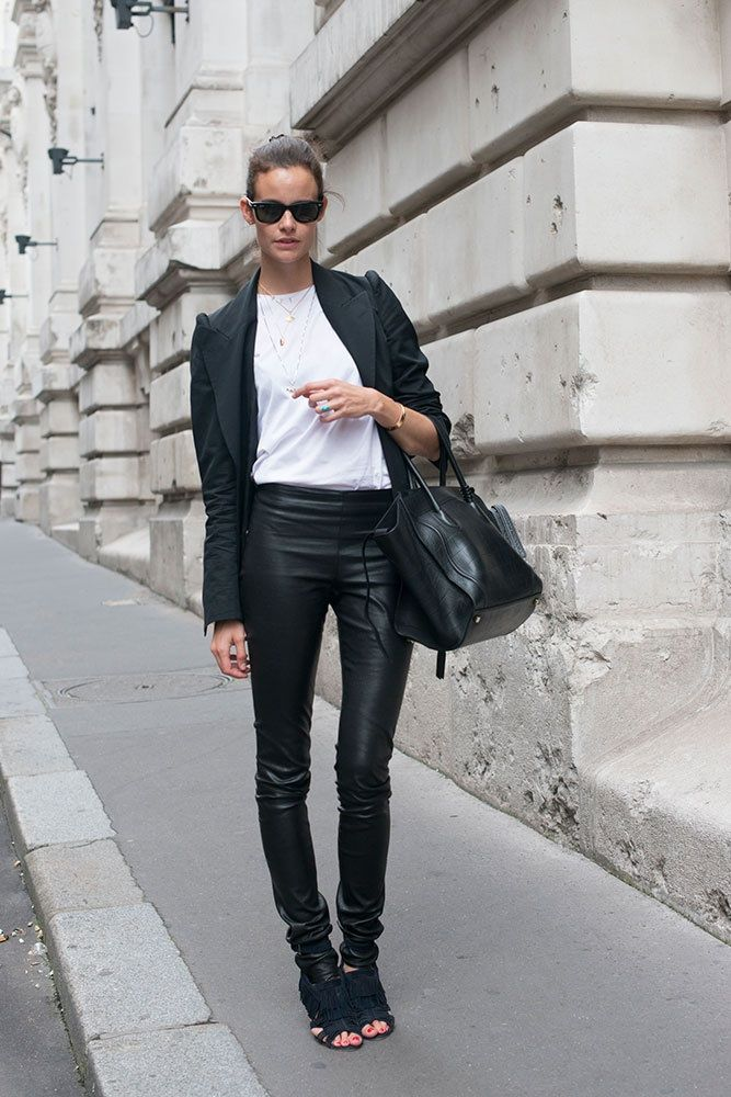Model off duty-Leather