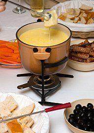 recipes for Chloe's fondue party