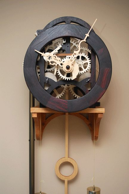 Tick Tock, a steampunk clock.  The Steampunk Home