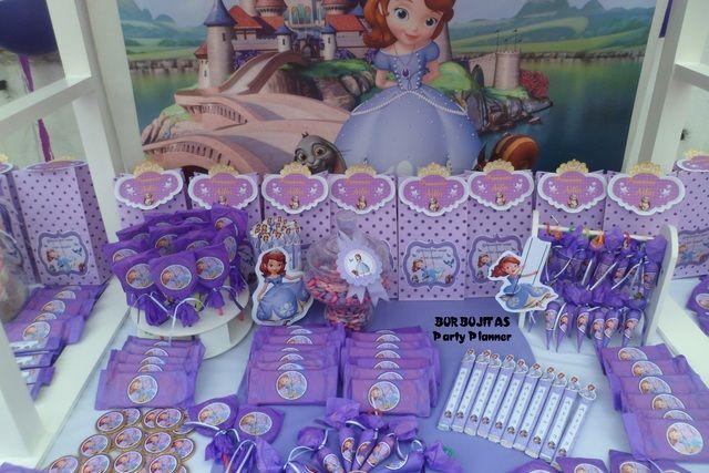 Princess Sofia Birthday Party Ideas | Photo 1 of 15 | Catch My Party