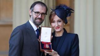 JK Rowling made Companion of Honour - BBC News