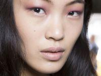The Violet Lipstick as Eyeshadow at Derek Lam Spring 2015