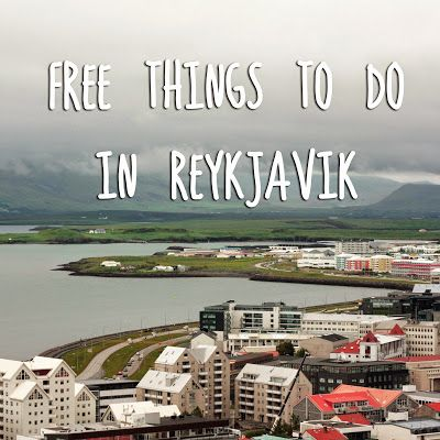 view from hallgrimskirkja free activities in reykjavik iceland - the art of cheap travel
