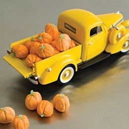 Great fall candy display lol