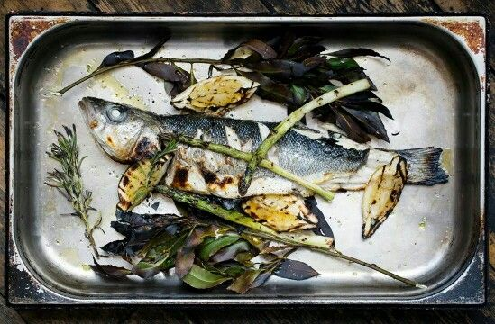 Branzino al Forno - Whole Roast Seabass is back on the menu. Love this ...