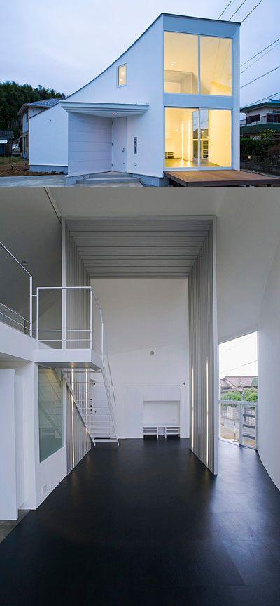 39 best images about kyosho jutaku on pinterest for Small japanese house design in tokyo by architect yasuhiro yamashita