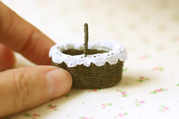 An elegant zakka style hand woven basket