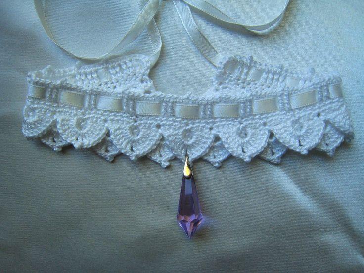 1000 id es sur le th me collier au crochet sur pinterest crochet col en dentelle en crochet. Black Bedroom Furniture Sets. Home Design Ideas